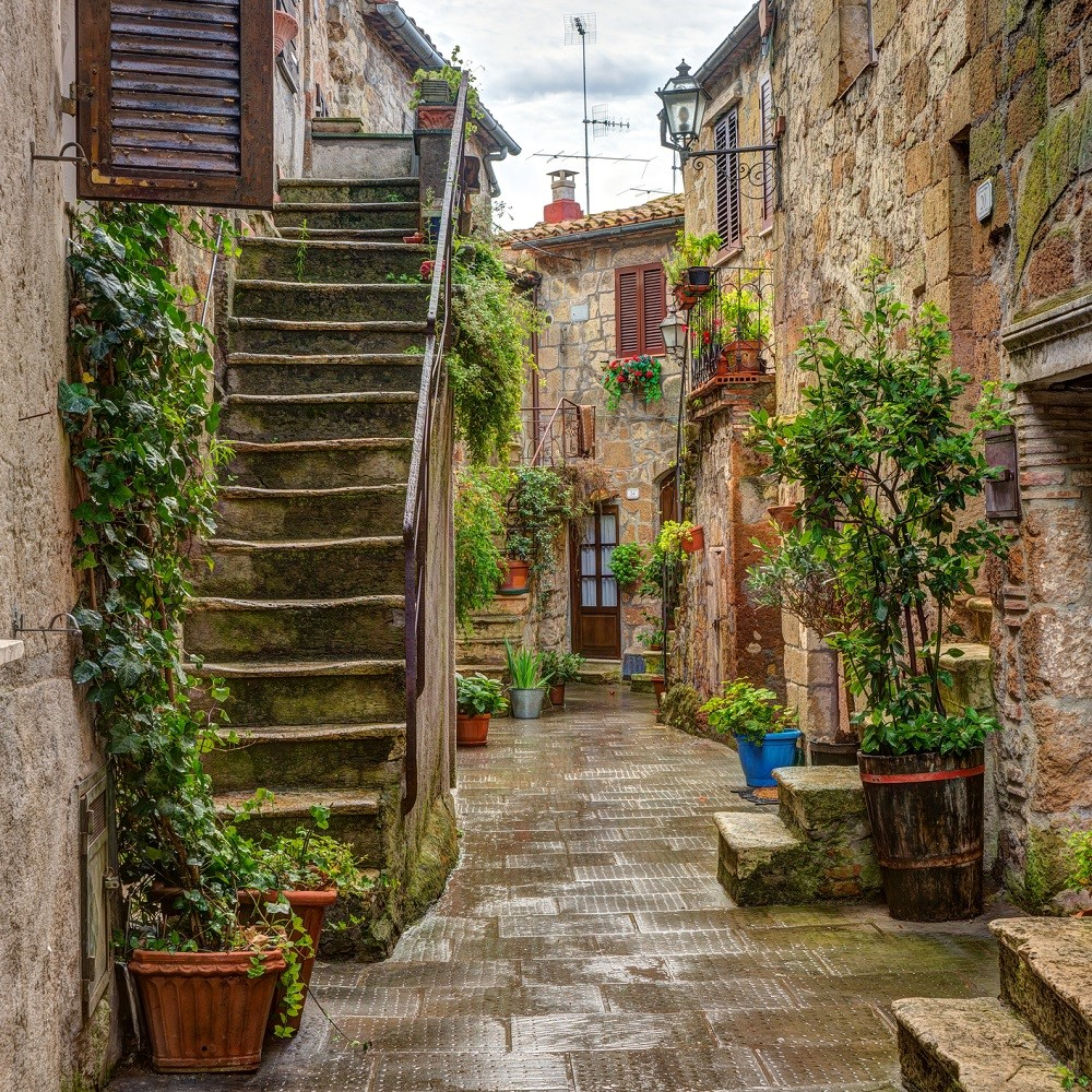 Quaint Corner in Pitigliano, Tuscany