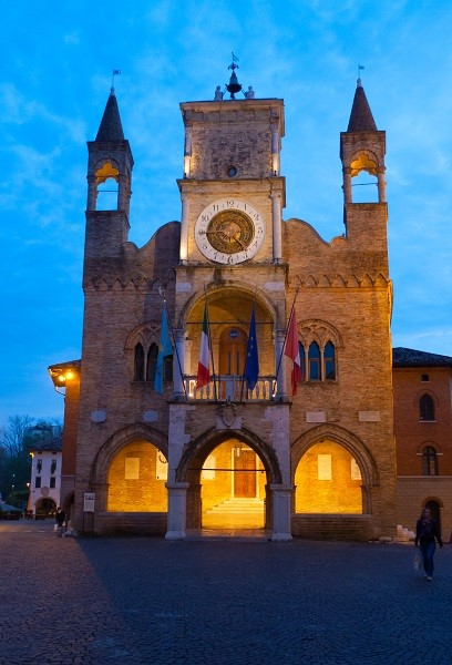 Town Hall in Pordenone