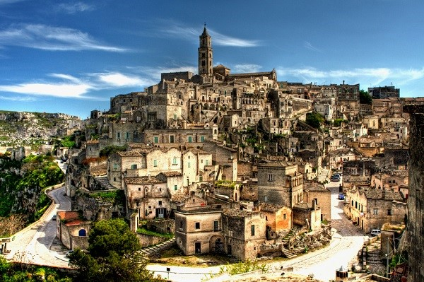 "Matera and its ""Sassi"" is a Unesco World Heritage Site"