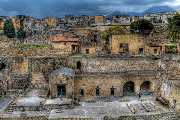 Ercolano is a Unesco World Heritage Site