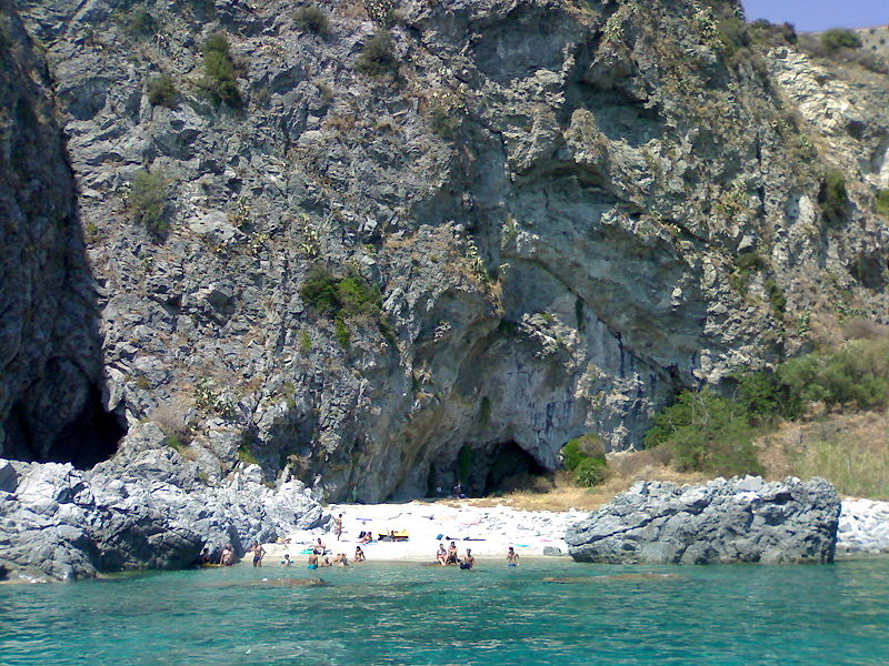secluded beach in soverato calabria
