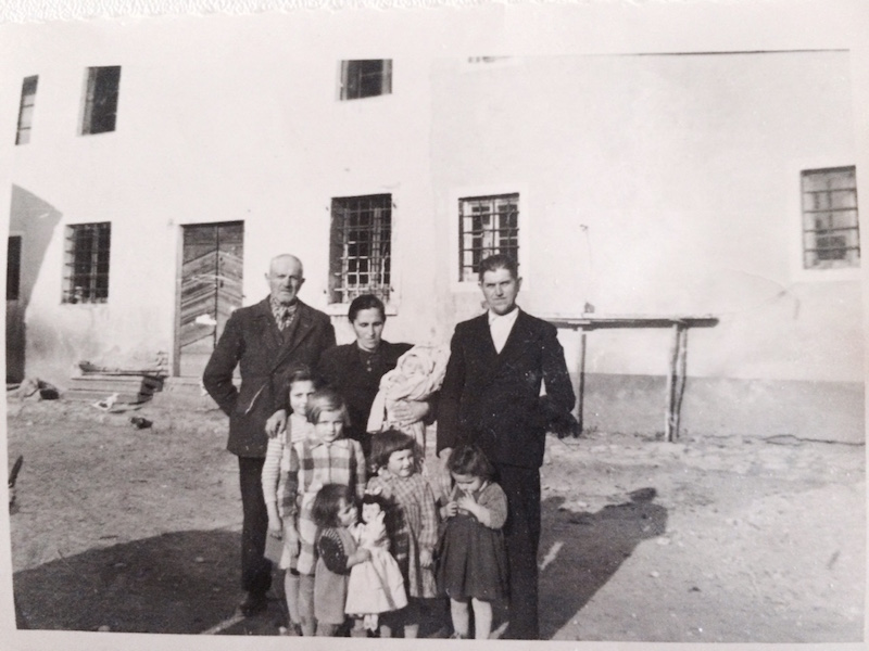 italian families then and now