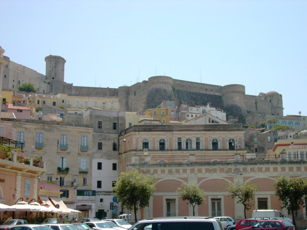 Gaeta - Angevin-Aragonese Castle - View from the city