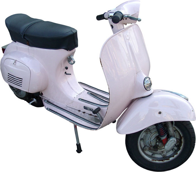 Italian Design : Vespa Scooter