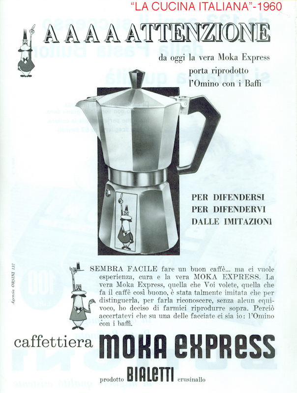 Italian coffe: Bialetti is the queen of mokas