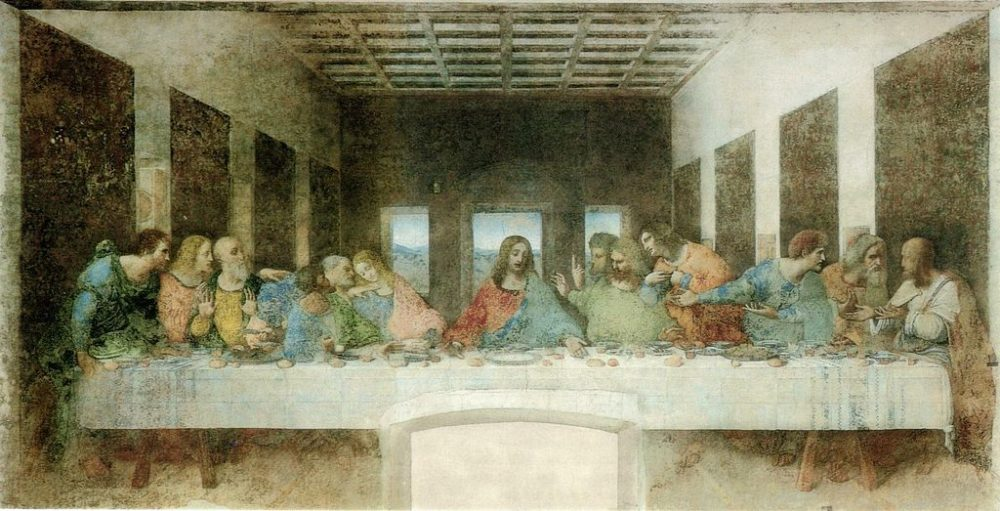 The Last Supper by Leonardo, a Unesco World Heritage Site