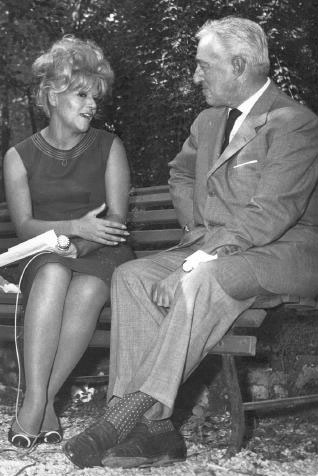 Parvin and Vittorio De Sica