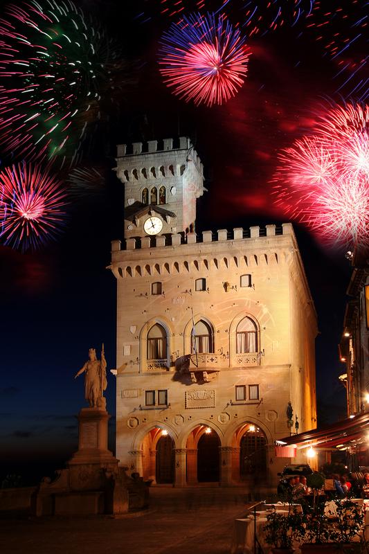 Vatican City And San Marino
