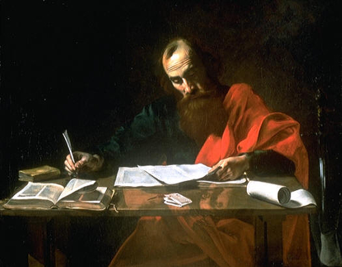 The Apostle, as he is commonly known: Saint Paul