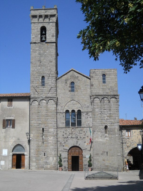 Abbey in Abbadia San Salvatore