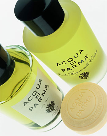 Acqua di Parma cologne oil soap