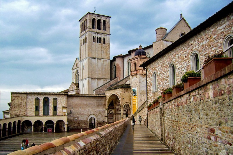 Assisi is a Unesco World Heritage Site