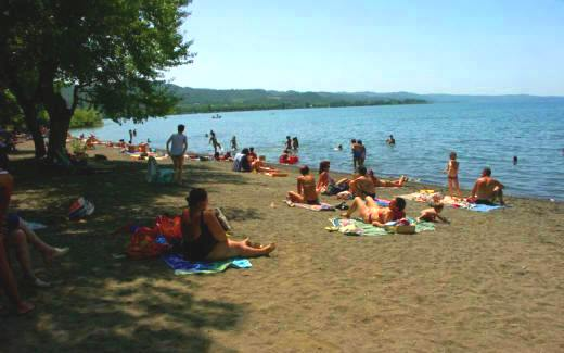 Lake Bolsena and its many visitors