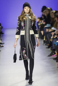 Emilio Pucci Embroidered Coat