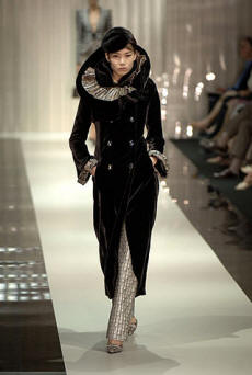 armani couture coat