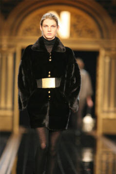 Fendi Collar Jacket Velvet