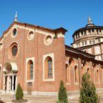 The church of Santa Maria delle Grazie