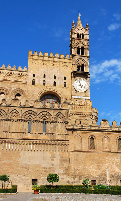 Detail of the Cathedral in Palermo