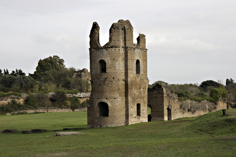 Roman Ruins near the Appian Way
