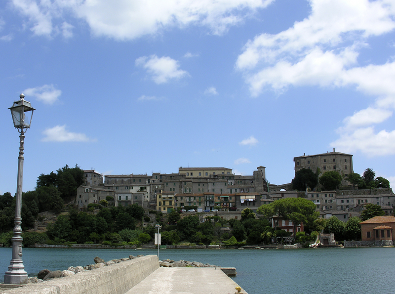 Town of Capodimonte, on the shores of Bolsena Lake