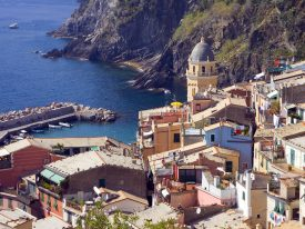 Italian Riviera  towns: Portovenere and Cinque Terre