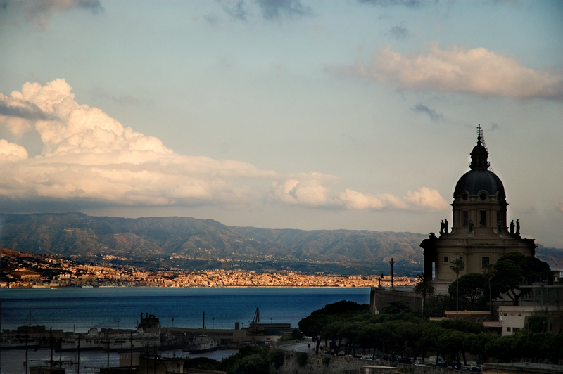 Panorama of Messina, Sicily