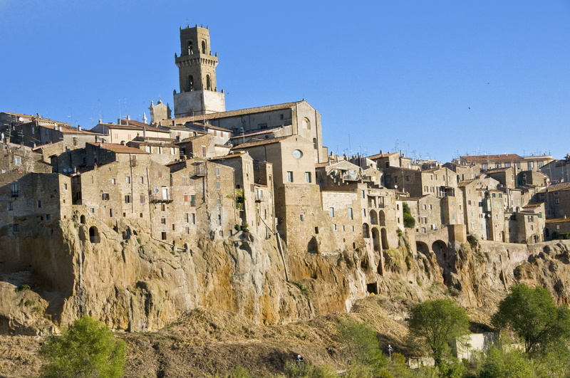 Pitigliano, an old town in Tuscany
