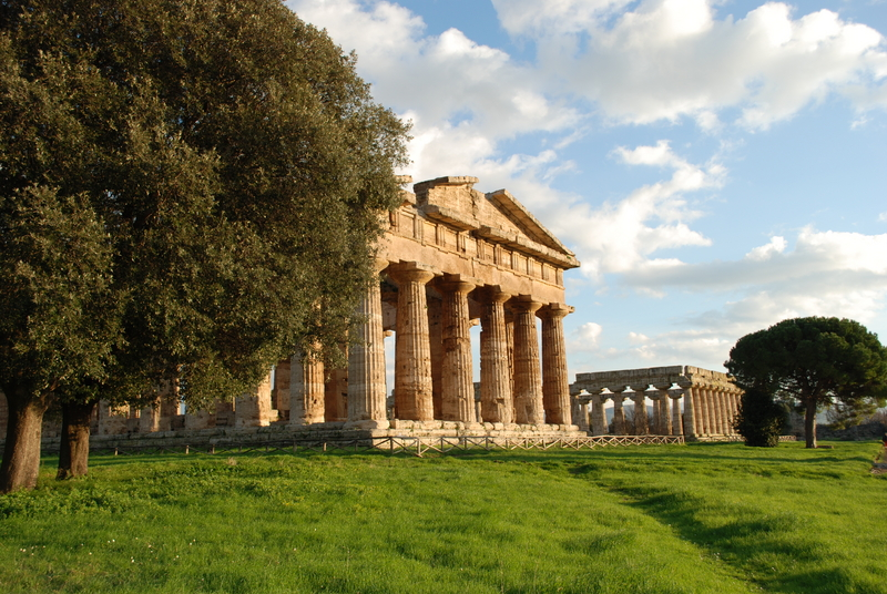 Paestum - Greek temples, a Unesco Heritage Site in Italy