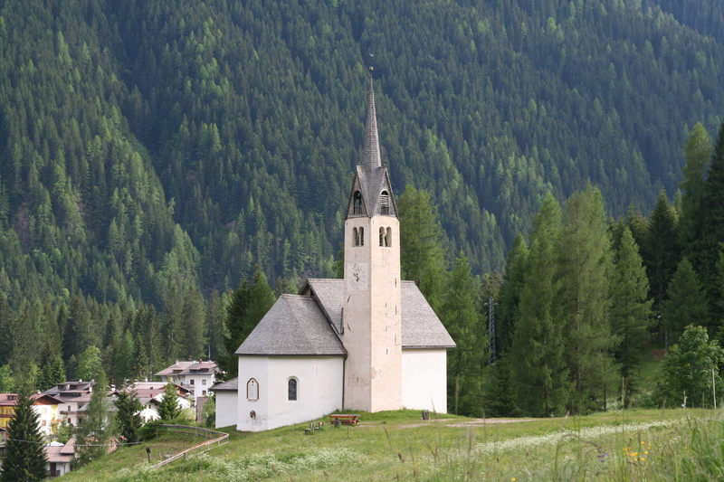 Dolomites - Falcade - Church