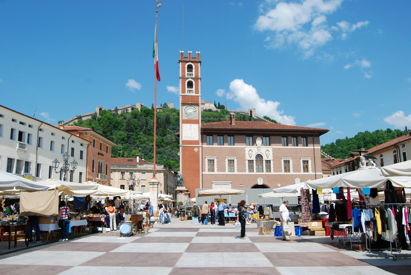 Chess Square of Marostica