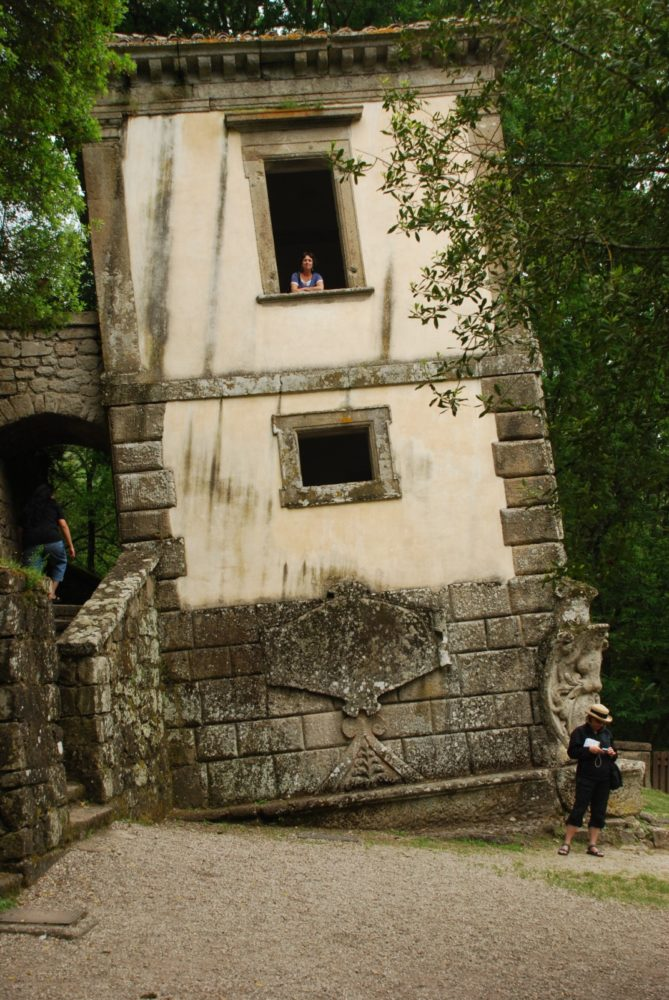 Mannerist Garden, The crooked house , Bomarzo
