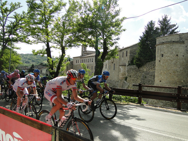 May in Italy is synonym with Giro d'Italia