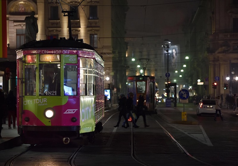 tour milan by tram