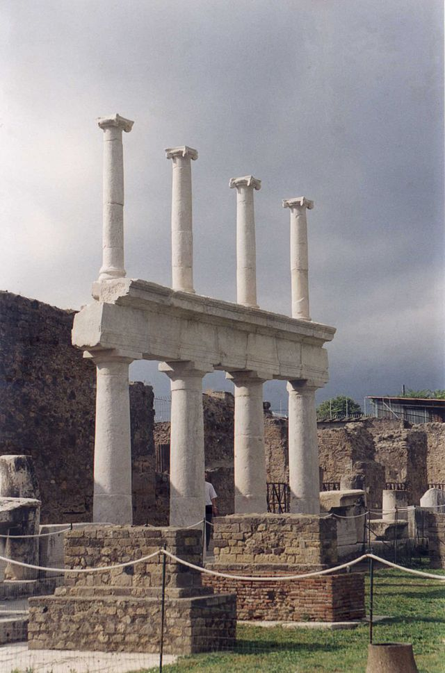 The archaeological area of Pompeii is a Unesco World Heritage Site