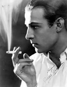 Rodolfo Valentino, the most famous Latin Lover