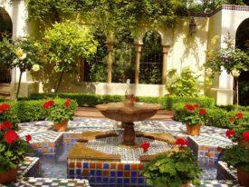 Elements of a Roman-Style Pleasure Garden