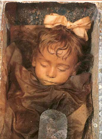 Rosalia Lombardo - Sleeping Beauty at the Capuchinis' Catacombs in Palermo