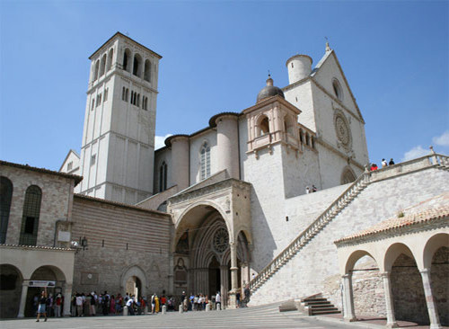san fancis chrch assisi