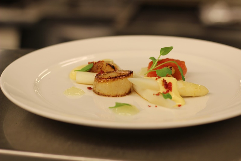 scallop bean cream