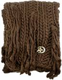 Cavalli scarf brown