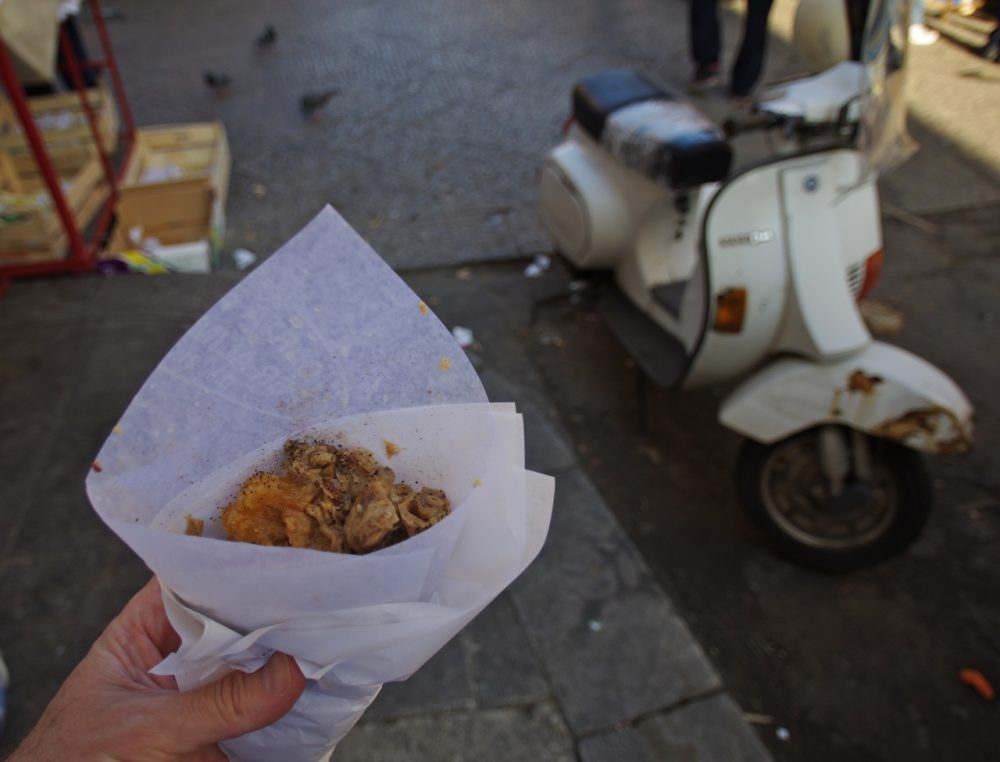 street food in italy