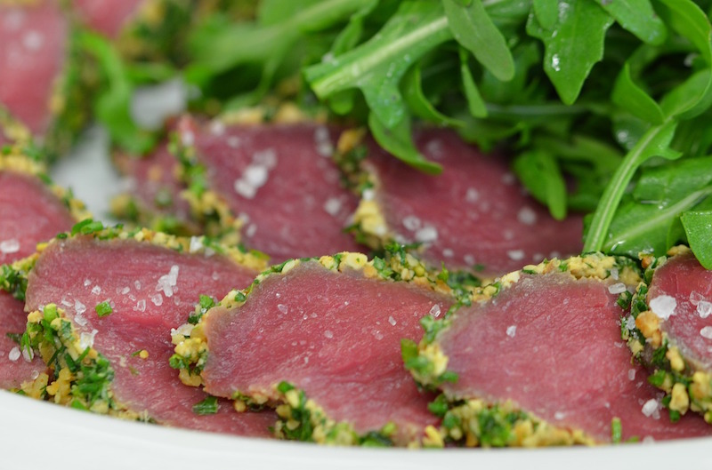 tuna carpaccio