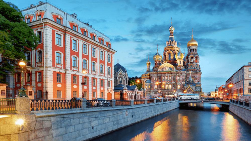 St Petersburg city