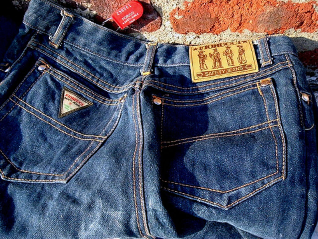 Elio fiorucci's stretch jeans