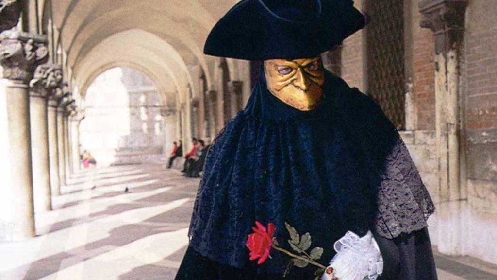 Casanova mask venice carnival