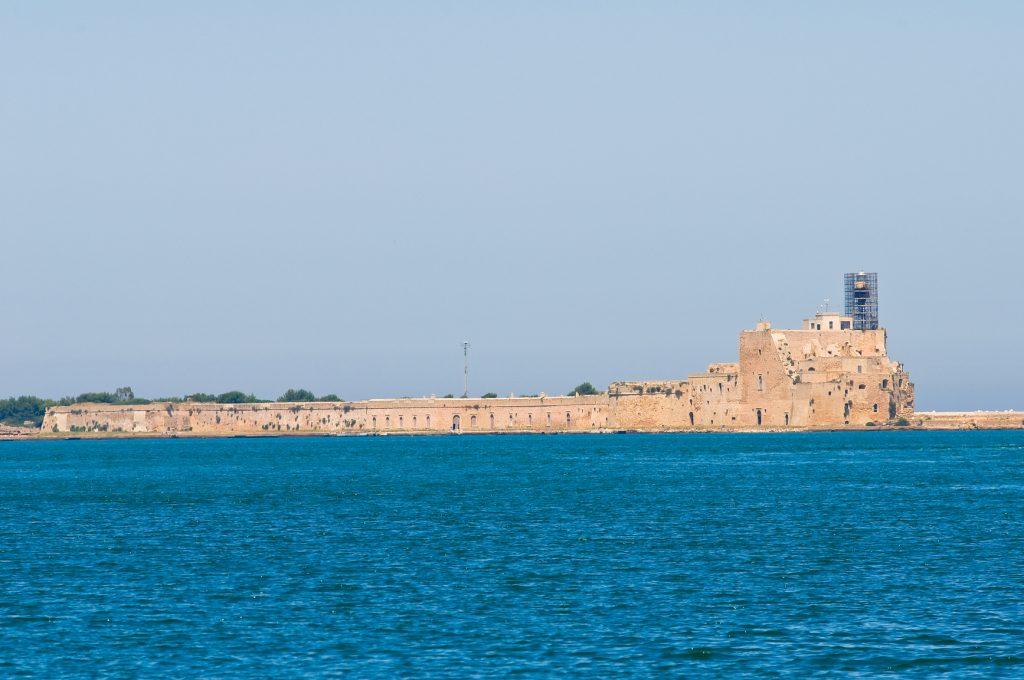 castel di mare, brindisi, puglia castle.