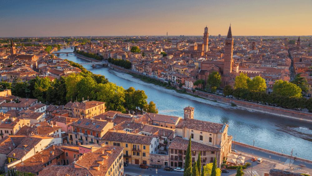 Verona city veneto italy