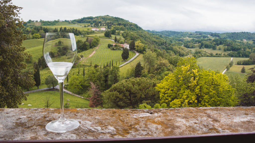 The Prosecco Hills of Conegliano, now a Unesco Heritage Site