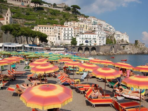 Italian beach establishments