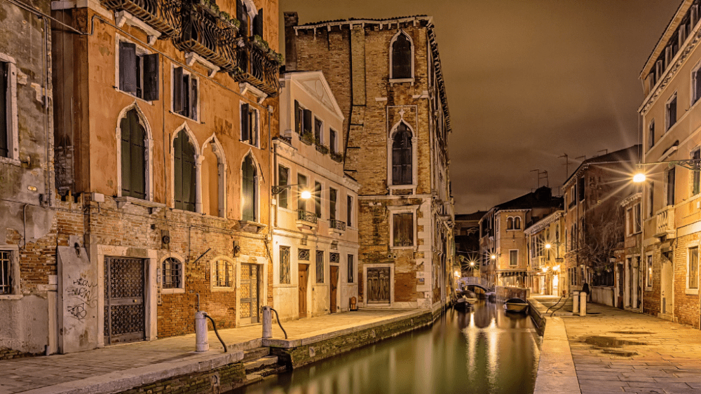 night venice Italy